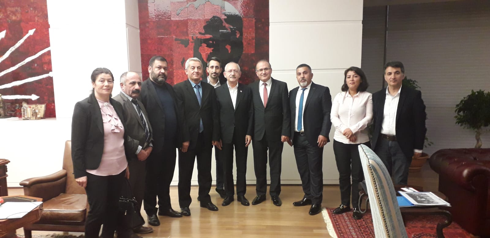 Maltepe Cemevi yöneticileri Kılıçdaroğlu'na sorunlarını anlattı